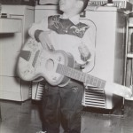 Daves first guitar about 1959